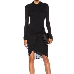 Helmut Lang Slack Jersey Twist Dress FLAW